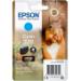 Epson Squirrel Singlepack Cyan 378 Claria Photo HD Ink