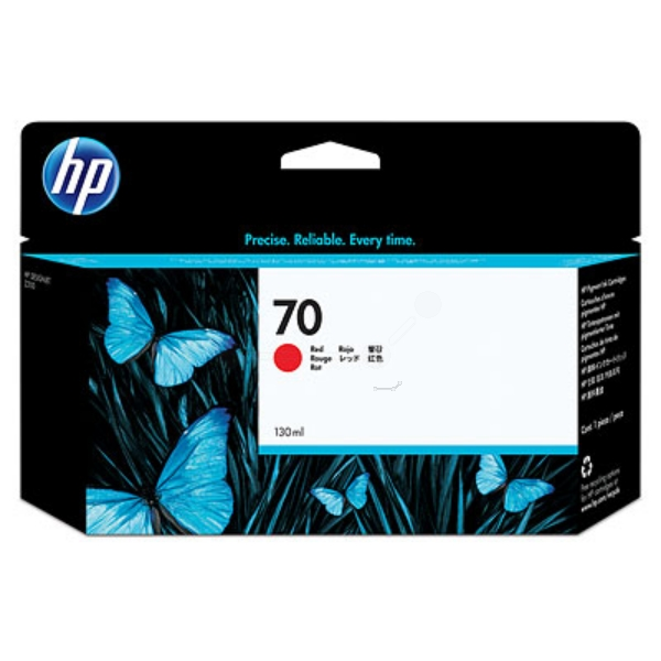 HP C9456A (70) Ink cartridge red, 130ml