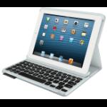 Logitech FOLIO Bluetooth White mobile device keyboard