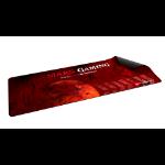 Mars Gaming MMP2 alfombrilla para ratón Negro, Rojo
