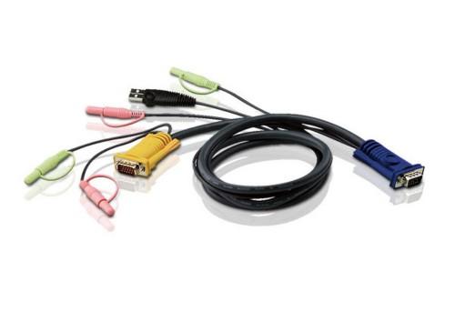 Aten 2L5303U KVM cable Black 3 m