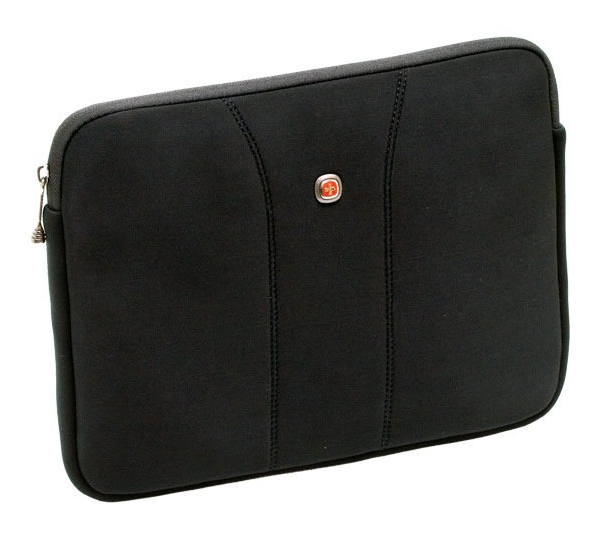 "Wenger/SwissGear Legacy 15.6 notebook case 39.6 cm (15.6"") Sleeve case Black 600672"