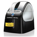 DYMO LabelWriter 450 Duo Direct thermal 600 x 300DPI Black,Silver label printer