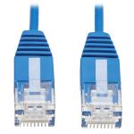 "Tripp Lite N200-UR6N-BL networking cable 7.87"" (0.2 m) Cat6 U/UTP (UTP) Blue"