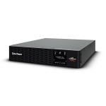 CyberPower PR3000ERT2U uninterruptible power supply (UPS) Line-Interactive 3 kVA 3000 W 8 AC outlet(s)