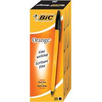 BIC 811925 Stick ballpoint pen Medium Black 20pc(s) ballpoint pen