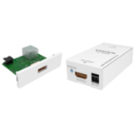 Vision TECHCONNECT V2 MODULE HDMI-OVER-TWISTED PAIR TRANSMITTER AND RECEIVER SET. Features active circuit w