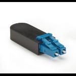 Black Box FOLB50S1-SC fibre optic adapter Black,Blue