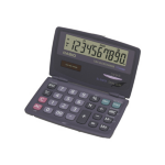 Casio SL-210TE-SA-GH-AY Pocket Basic calculator Black calculator