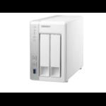 QNAP TS-231 Storage server Tower Ethernet LAN White storage server