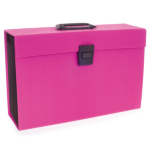 Rexel JOY Expanding Box File Pretty Pink