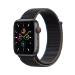 Apple Watch SE 44 mm OLED 4G Gris GPS (satélite)