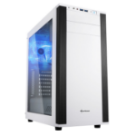 Sharkoon M25-W computer case Midi-Tower White