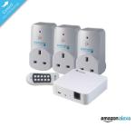 EnerGenie Mi|Home Triple Smart Plug & Hub Starter Pack
