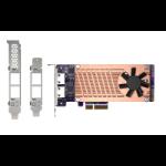 QNAP QM2-2P2G2T network card Internal Ethernet 2500 Mbit/s