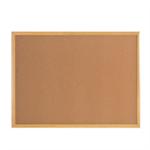 Bi-Office Earth-It Cork Notice Board 90x60cm Frame DD