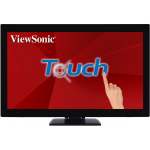 "Viewsonic TD2760 touch screen monitor 68.6 cm (27"") 1920 x 1080 pixels Multi-touch Multi-user Black"