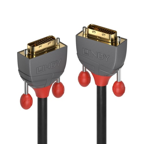 Lindy 36221 DVI cable 1 m DVI-D Black
