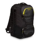 Targus Fitness backpack Polyurethane Black,Yellow