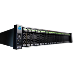 Fujitsu 60 S3 Rack (2U) Black disk array