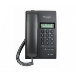 Panasonic KX-T7703X-B Analog telephone Identificador de llamadas Negro teléfono dir