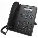 Cisco Unified IP Phone 6921, Standard Handset Black