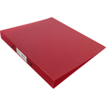 Q-CONNECT Q CONNECT RING BINDER FROSTED RED