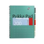 Pukka Pukka Met A4 Proj Bk Grn 80gsm 8521-MET