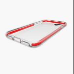 """QDOS Shox 4.7"""" Cover Red,Transparent"""