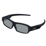 NEC X105-RF-X2 stereoscopic 3D glasses Black 1 pcs