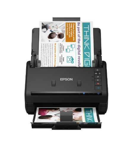 Epson WorkForce ES-500WII Sheet-fed scanner 600 x 600 DPI A4 Black