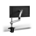 "Ergotech Group FDM-PC-S01 27"" Silver flat panel desk mount"
