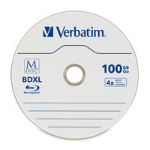 Verbatim M-Disc BDXL 100 GB 25 pcs