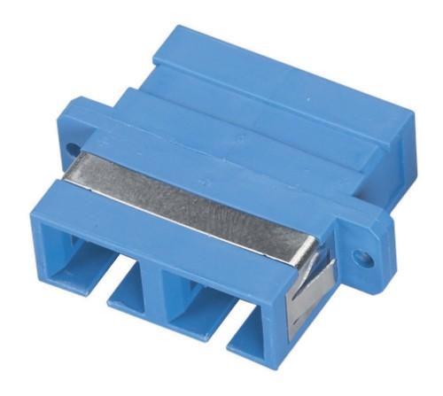 Black Box FOT120 fibre optic adapter SC/SC Blue 1 pc(s)
