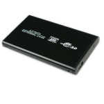 "MicroStorage K2501A-U3S 2.5"" USB powered Black HDD/SSD enclosure"