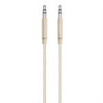 Belkin AV10164BT04-GLD 1.2m 3.5mm 3.5mm Gold audio cable