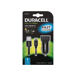 Duracell Single 2.4A +1M Micro USB Cable mobile device charger