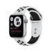 Apple Watch Series 6 Nike 40 mm OLED Plata GPS (satélite)