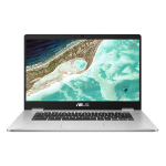 "ASUS Chromebook C523NA-A20101 Silver Notebook 39.6 cm (15.6"") 1.1 GHz Intel® Pentium® N4200"