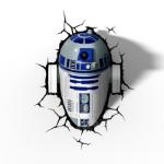 TARGET Star Wars 3D Deco Wall Light - R2D2