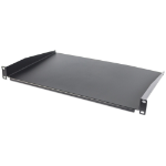 "Intellinet 19"" Cantilever Shelf, 1U, Shelf Depth 350mm, Non-Vented, Black"