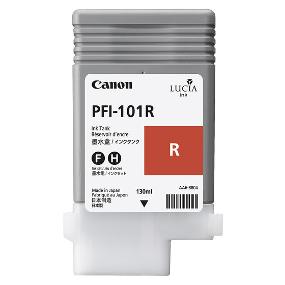 Canon PFI-101R Origineel Rood 1 stuk(s)
