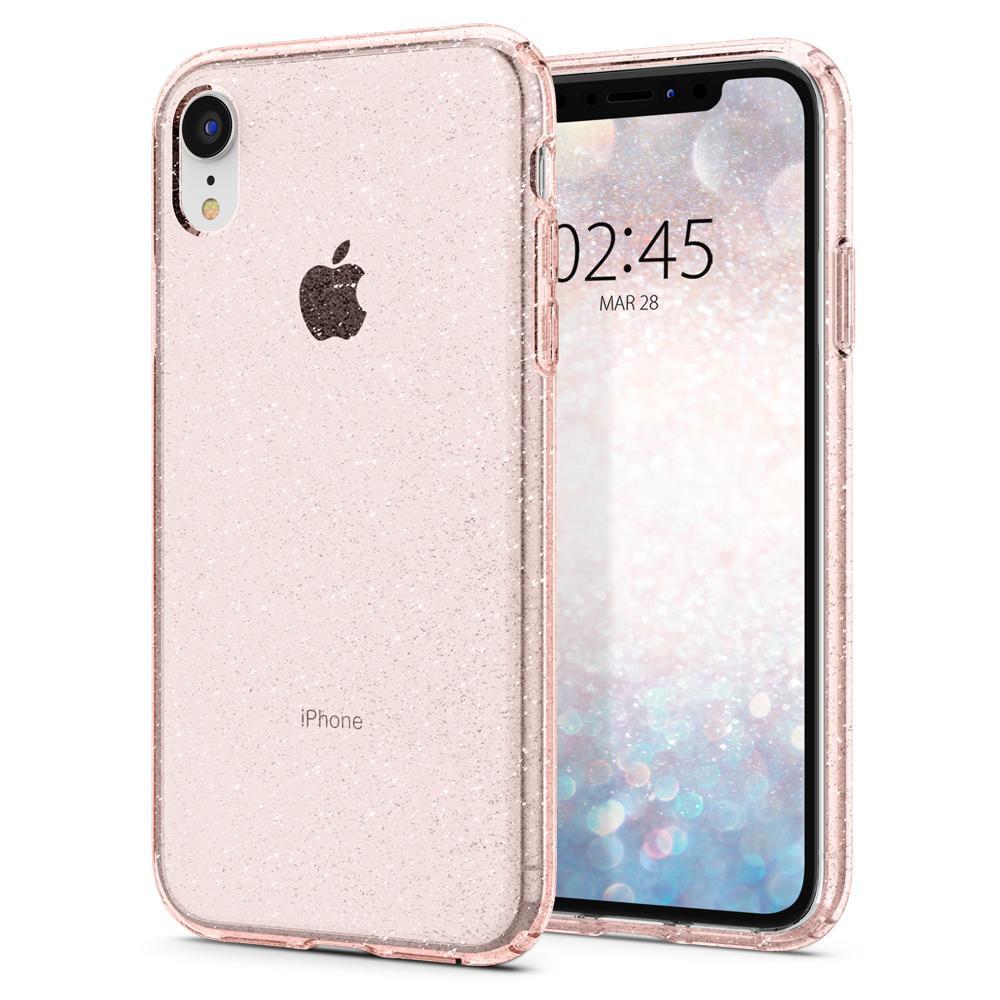 "Spigen Liquid Crystal Glitter mobiele telefoon behuizingen 15,5 cm (6.1"") Hoes Roze"