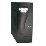 Tripp Lite SmartOnline 220-240V 3kVA 2.1kW On-Line Double-Conversion UPS, SNMP, Webcard, Tower, C20 inlet, DB9 Serial