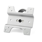 StarTech.com Monitor Mount Adapter for Apple iMac, iMac Pro, Cinema & Thunderbolt Displays - Only for Premium Mounts - Apple Computer Monitor Bracket Kit - Silver