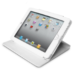 Premiertek LC-IPAD3-W Folio White tablet case