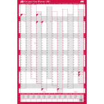 Sasco 2410133 wall planner Pink,White 2021