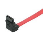 C2G 1m 7-pin 90° to 90° SATA cable Red