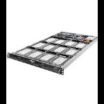 Asrock 1U12L2SW-14S Intel C224 LGA 1150 (Socket H3) 1U Multicolour server barebone