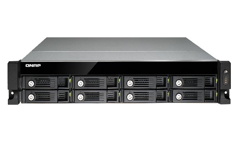 QNAP TS-853U NAS Rack (2U) Ethernet LAN Black storage server